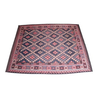 Large Midcentury Moroccan Kilim Rug For Sale