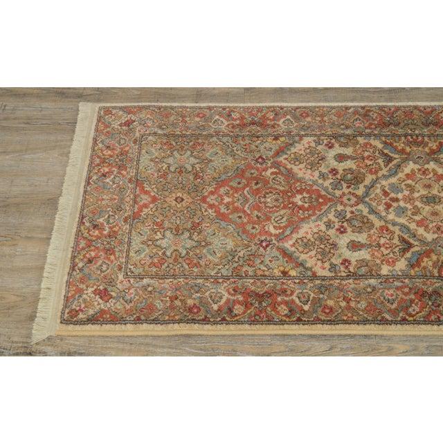 "Karastan Empress Kirman 2'6"" X 8'6"" Runner Area Rug Carpet (A) For Sale - Image 4 of 12"