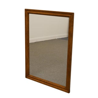 Pennsylvania House French Country Solid Oak Wall Mirror For Sale