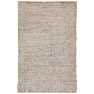 Jaipur Living Anthro Natural Tan Area Rug - 5′ × 8′ For Sale