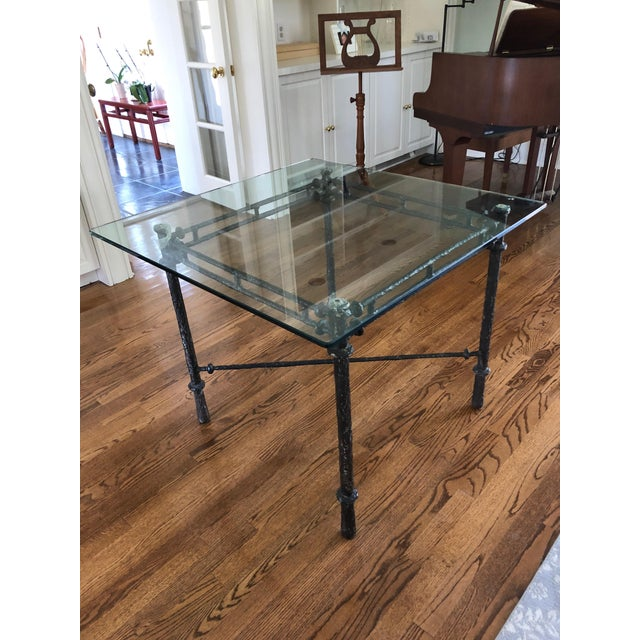 1960s Italian Cast Aluminum Dining Table For Sale - Image 13 of 13