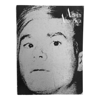 """Vintage """"Art in America"""" Magazine With Andy Warhol Cover"""