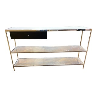 Contemporary Mitchell Gold Manning Console Table For Sale