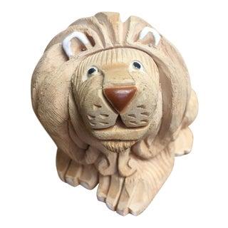 Artesania Rinconada Pottery Lion For Sale