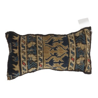 Antique Rug Fragment Pillow For Sale