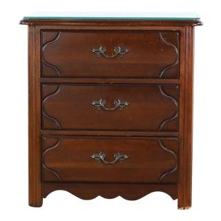 Drexel Heritage Wooden Nightstand For Sale