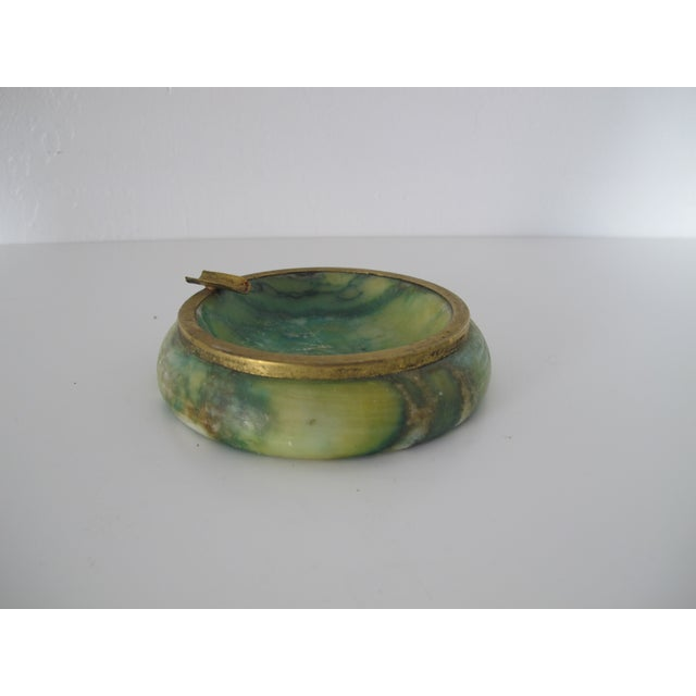 Green Marble Catchall - Image 2 of 5