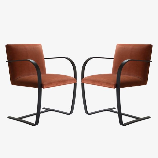 The definition of minimalism in a singular design, achieved by the great Ludwig Mies van der Rohe in 1929; the Brno Flat-...