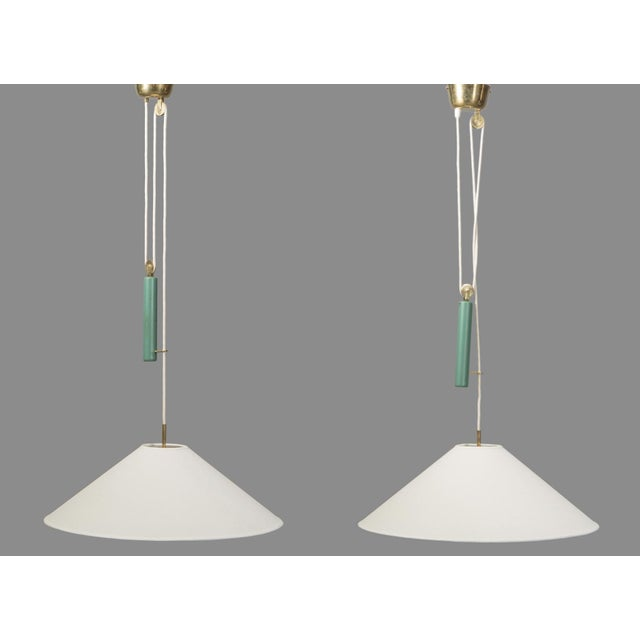 Paavo Tynell Pair of Pendants by Paavo Tynell for Taito For Sale - Image 4 of 5