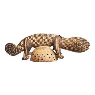 Burkina Faso Chameleon Mask