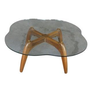 Wild Mid Century Modern Spider Leg Coffee Table For Sale