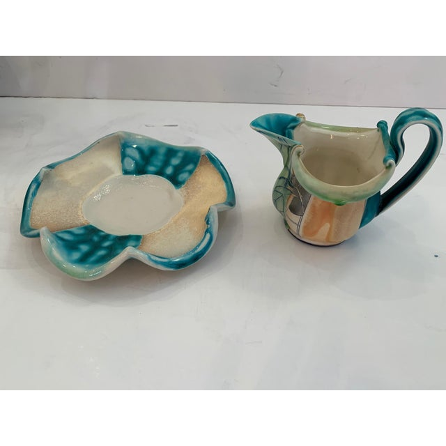 2000 - 2009 Handmade Pottery by Julia Galloway -Set of 3 For Sale - Image 5 of 13