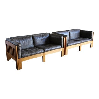 Tage Poulsen Model TP632 Sofas, Circa 1962 - a Pair For Sale