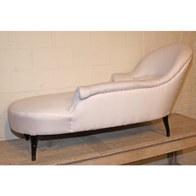 Late 19th Century Napoleon III French Chaise Lounge For Sale - Image 5 of 6