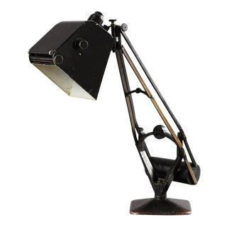Table lamp with counterweight by Hadrill & Horstman, 1920s For Sale