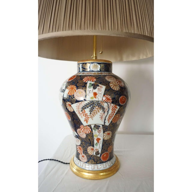 Late 19th Century Samson Imari Lamps, Mallett London - a Pair For Sale - Image 5 of 13