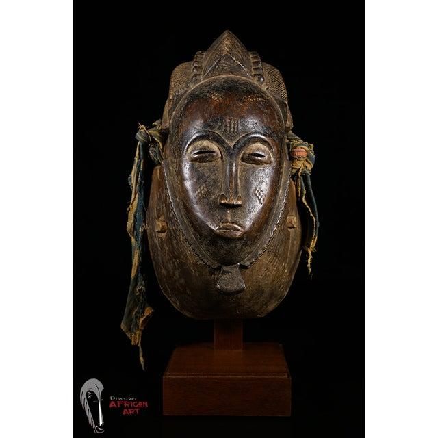 Baule African Tribal Portrait Mask - Image 3 of 10