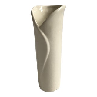 Calla Lily Vase Artist Signed For Sale