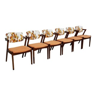 Danish Mid-Century Style Chairs - Set of 6
