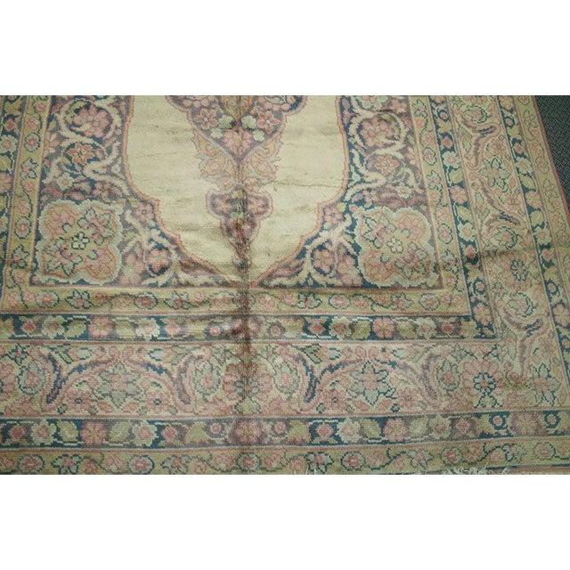Persian 1930s Vintage Tabriz Haji Jalili Design Rug - 6′7″ × 7′5″ For Sale - Image 3 of 6