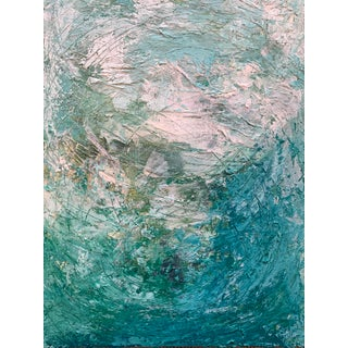 """""""The Swell"""" Original Mixed Media Painting For Sale"""