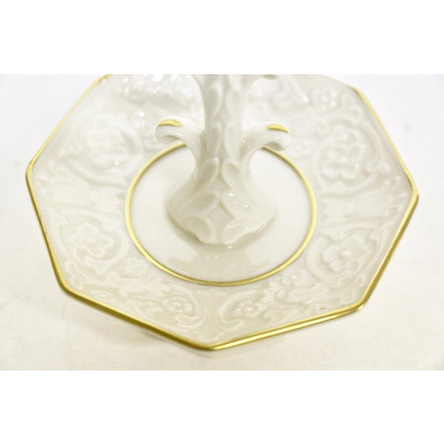 Traditional Lenox China Porcelain Ring Dish For Sale - Image 3 of 6