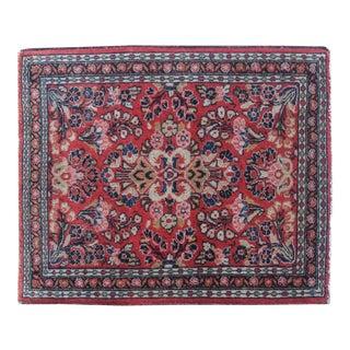 """Antique Persian Sarouk - 1'11""""x2'4"""""""