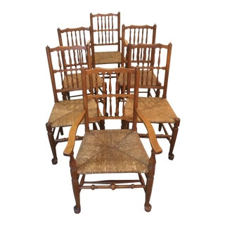 1940s Stickley Dining Chairs- Set of 6 For Sale