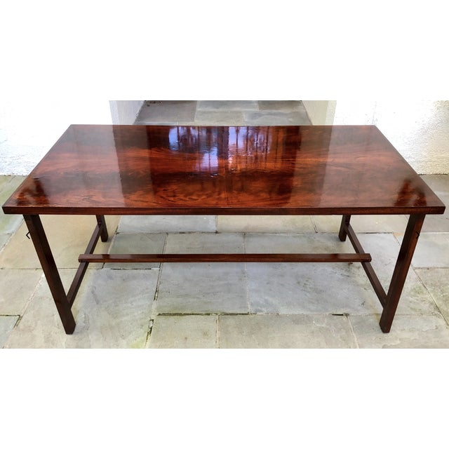Custom Flame Mahogany Collapsible Dessert or Serving Table For Sale - Image 10 of 10