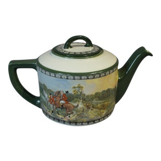 "Royal Doulton ""The Quorn Hunt"" Teapot For Sale"