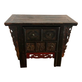 Indonesian Nesting Desk/Console For Sale