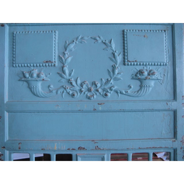 Early 20th Century Antique Cast Iron Archival Library Bookcase by Snead For Sale - Image 4 of 8