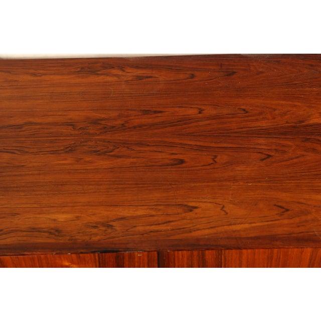 Danish Modern Mid Century Danish Modern Rosewood Sideboard by Henry Rosengren Hansen for Brande Mobelindustri For Sale - Image 3 of 11
