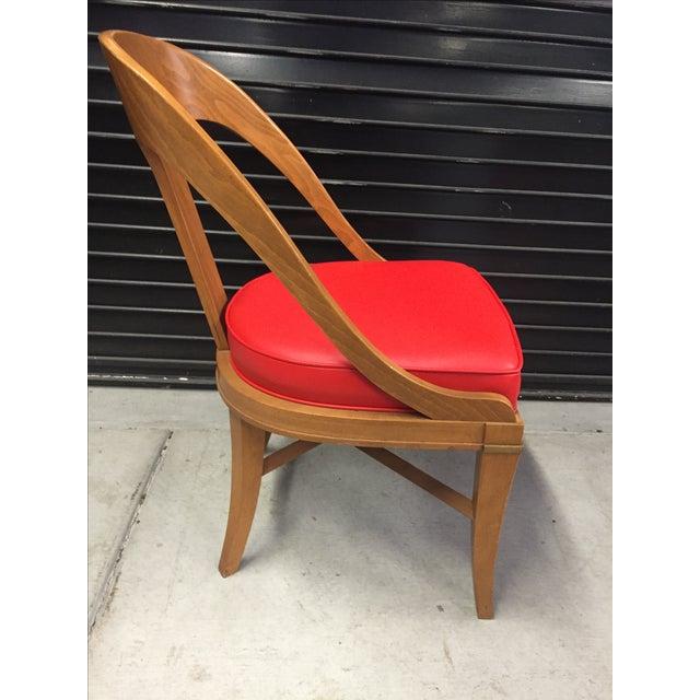 Vintage Mid-Century Modern Teak Chair - Image 5 of 9