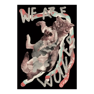 2017 Contemporary Music Poster, We Are Wolves For Sale
