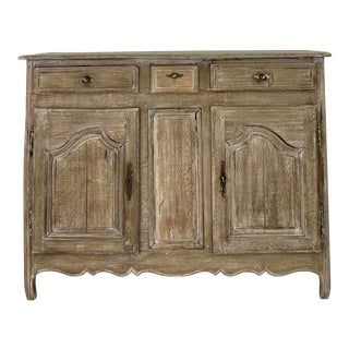 19th Century French Oak Buffet For Sale