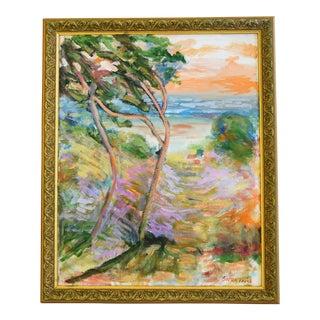 Original Juan Guzman Plein Air Landscape Painting
