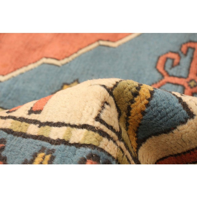 Hand-Knotted Turkish Rug For Sale - Image 6 of 9