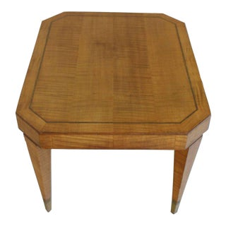 Mid-Century Modern Tommy Parzinger Occasional Rectangular Side Table For Sale