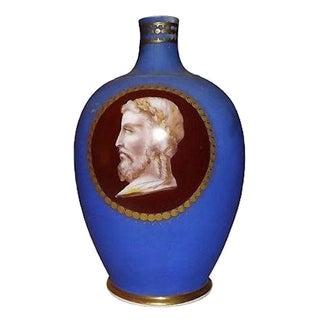 Antique 19th-Century Porcelain Paris Urn