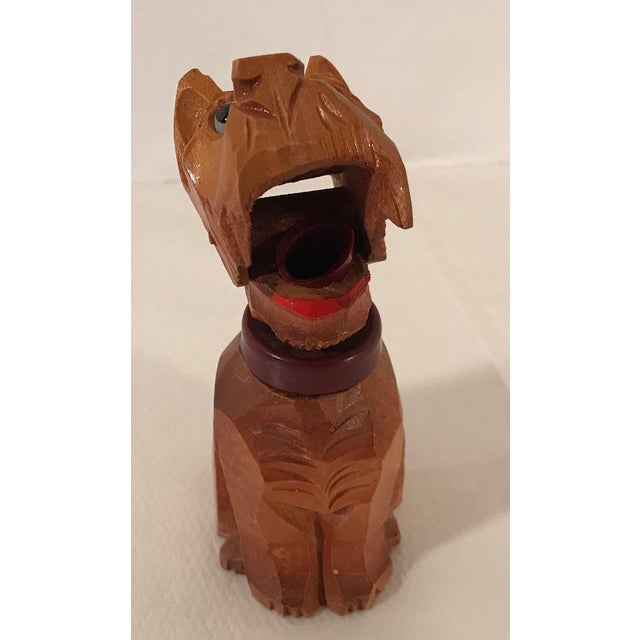 Early 20th Century Vintage Carved Wooden Scottie Dog Figural Corkscrew For Sale - Image 5 of 8