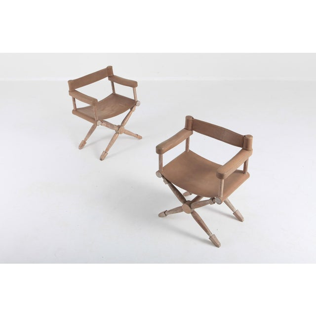 1930s Paul Rodocanachi Art Deco 'Rodo' Chairs for Jean-Michel Frank For Sale - Image 5 of 13