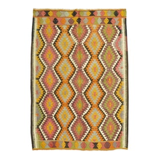 20th Century Kilim, 5'10'' X 7'8'' For Sale