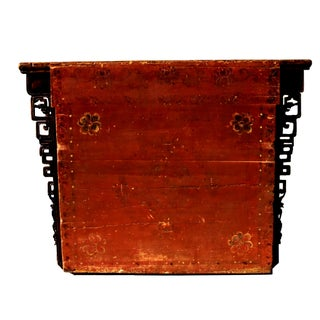 Antique Mongolian Chest Console Table Preview