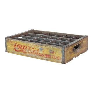 Vintage Wooden Coca-Cola Crate