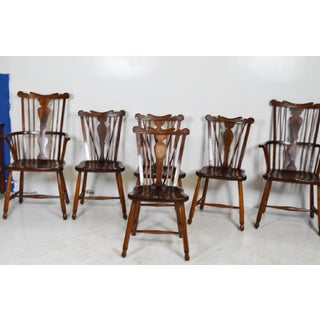 1950s Vintage L.& j.g. StickLey Dining Room Chairs - Set of 6 Preview