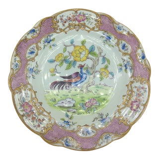 Vintage Coalport Chinoiserie Plate For Sale