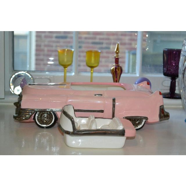 Pink Cadillac Cookie Jar For Sale - Image 10 of 10