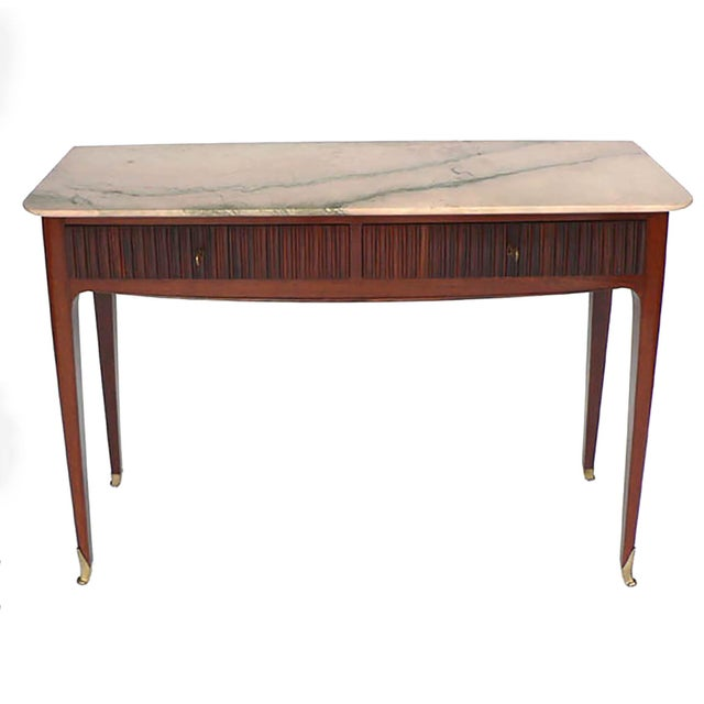 1950s Modernist Italian Console For Sale - Image 5 of 5