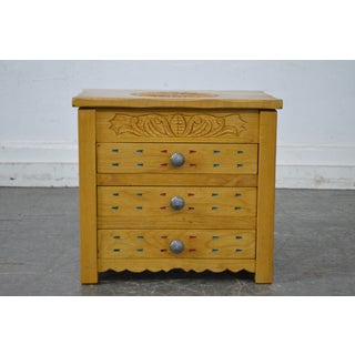 Southwest Style Custom Crafted Jewelry Chest Preview